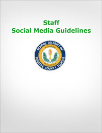 Social Media Guidelines - Staff Cover