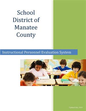 School District of Manatee County Instructional Personnel Evaluation System Cover and Link