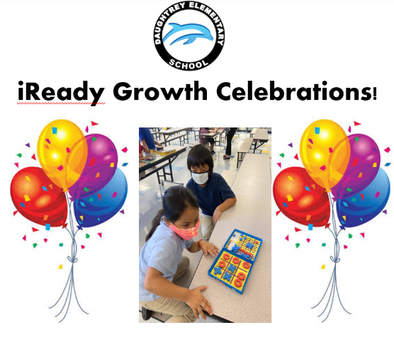 iReady Growth Celebrations!