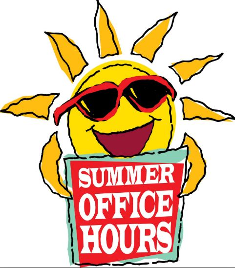 Summer Hours   Office Closed 7/1 - 7/10      New Student Registration closed 6/21 - 7/16