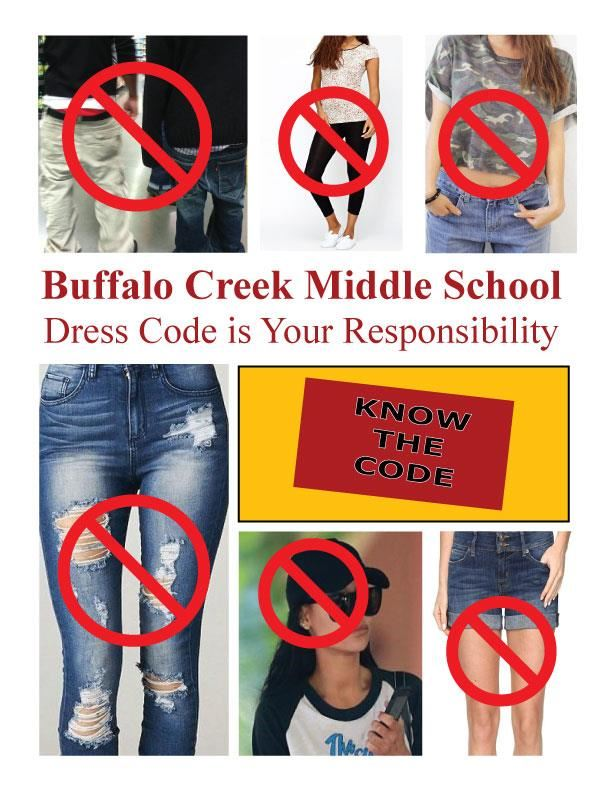 BCMS Information and Resources / BCMS Dress Code