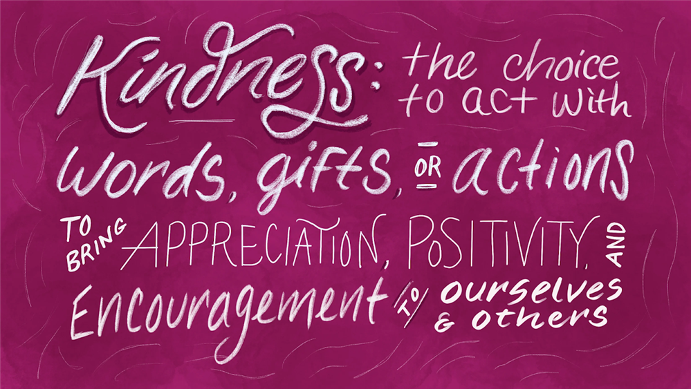 Character Strong Monthly Theme is Kindness