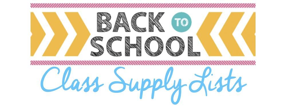 School Supply Lists / McNeal Elementary Supply Lists