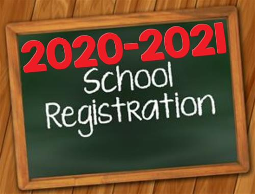 "We are taking registrations for the 20/21 school year every day from 9-2. Families can pick up a registration packet  or they can download forms from this link ""CLICK HERE"""