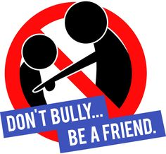 Don't bully be a friend character