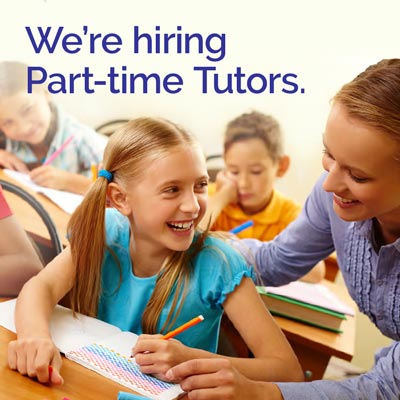 We're Hiring Part-time Tutors!