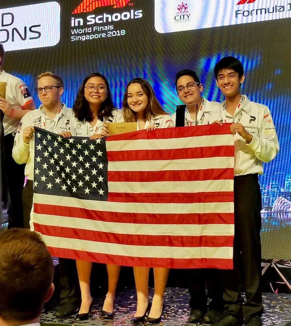 Manatee County Students Place Third in World STEM Competition in Singapore