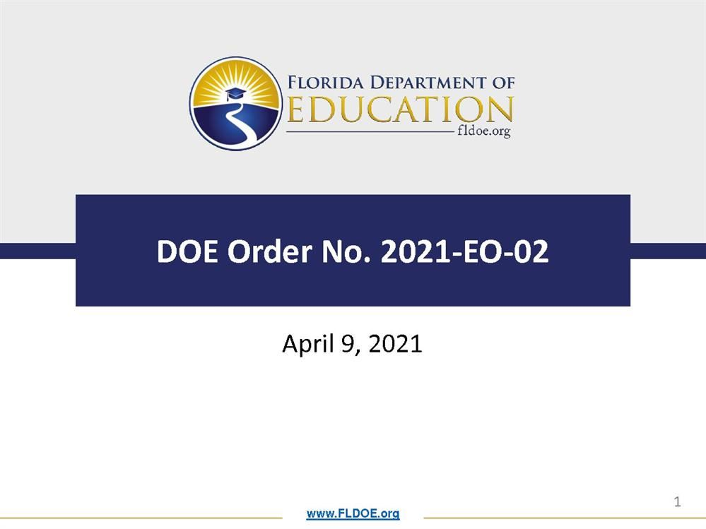 Executive Order-FLDOE-21-EO-02