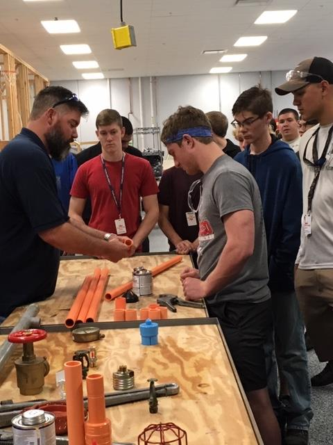 Students enjoy hands on activities at the Construction Rodeo