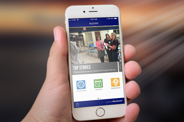 Stay in Touch with Our Schools and District Download the MySDMC mobile app today!