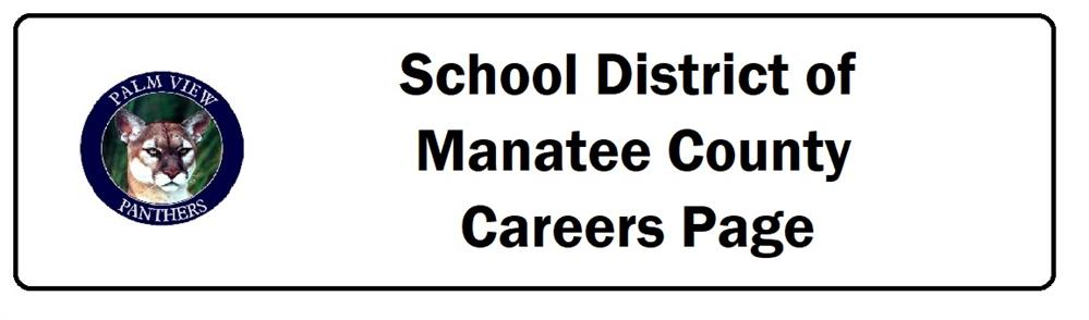School District of Manatee County Careers Page