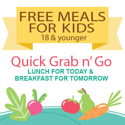 Free Grab n' Go Meals for Kids