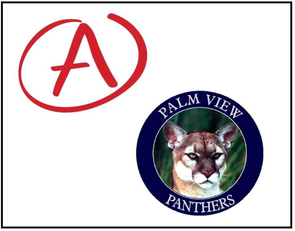 """A"" School Grade awarded to Palm View"