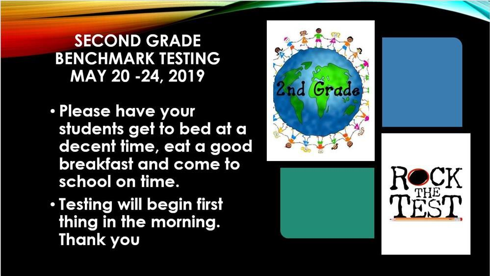 2nd Grade Benchmark